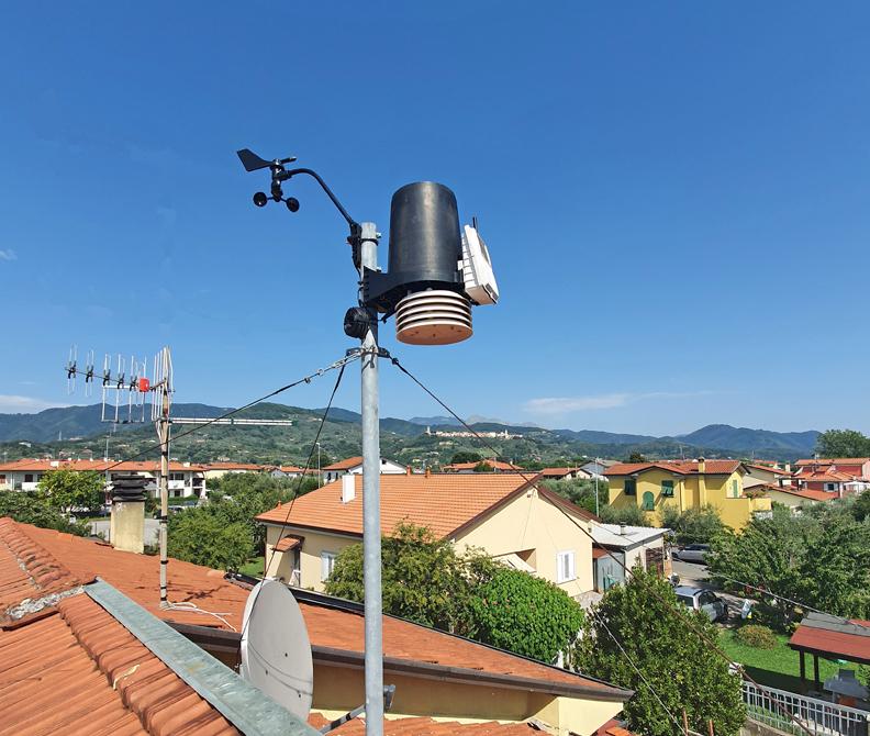 stazione meteo Caniparola