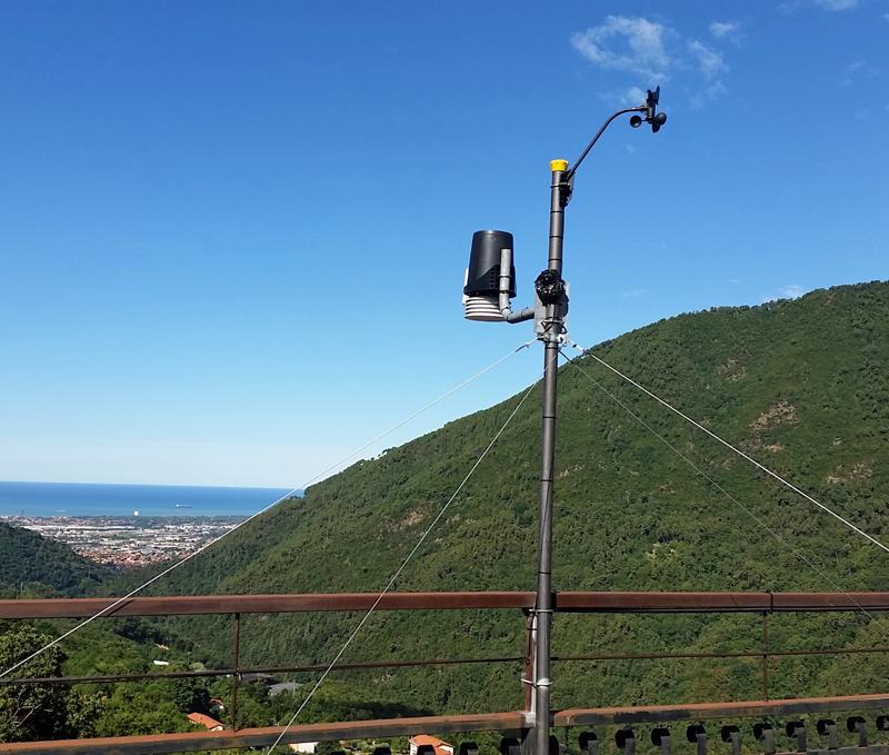 stazione meteo Altagnana
