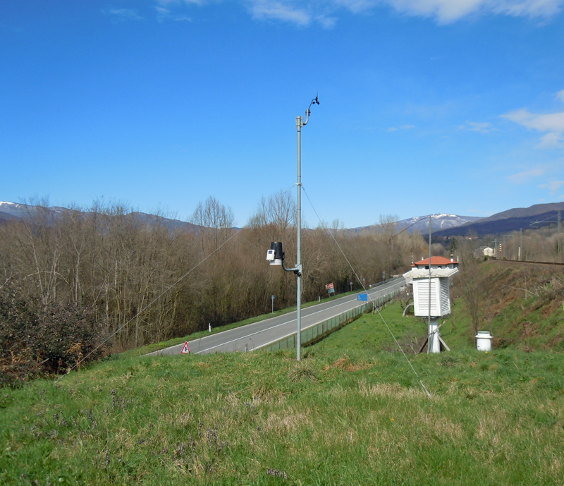 stazione meteo Villafranca Lunigiana