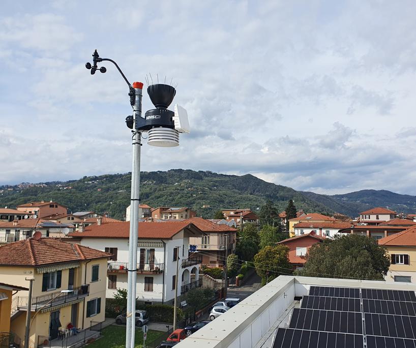 stazione meteo Santo Stefano Magra