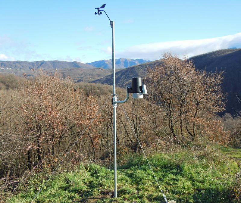 stazione meteo Succisa