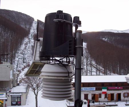 stazione meteo Pratospilla
