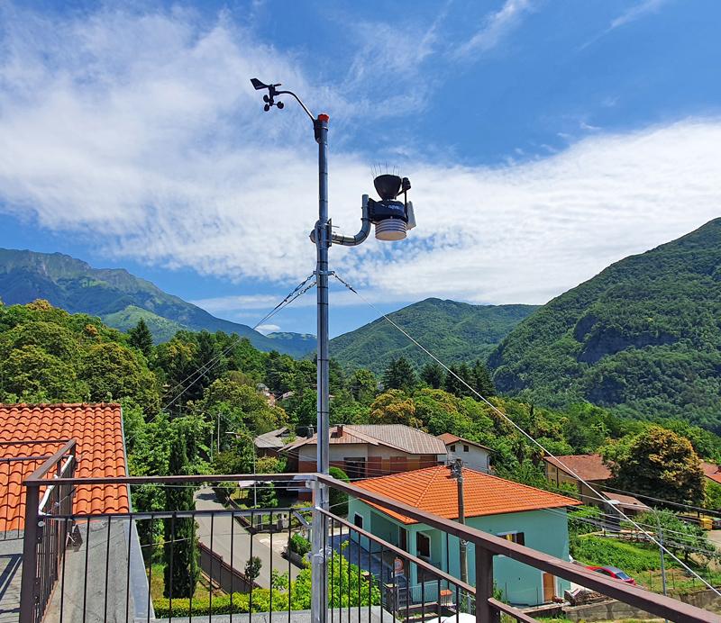 stazione meteo Comano