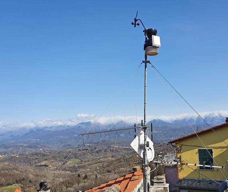 stazione meteo Tendola