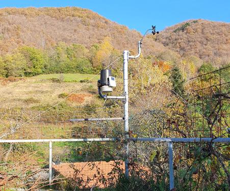 stazione meteo Regnano