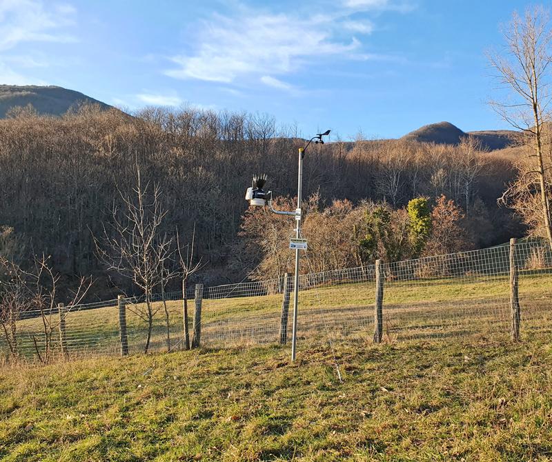 stazione meteo Montelungo
