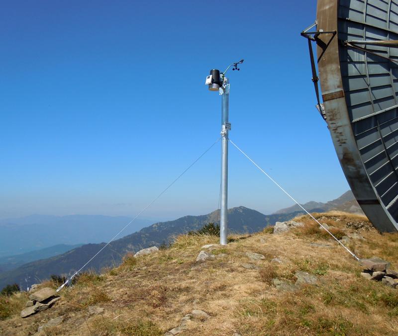 stazione meteo Monte Giogo
