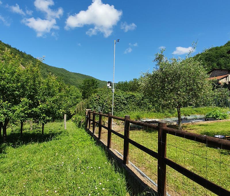 stazione meteo Vico Bagnone