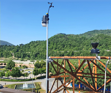 stazione meteo Aulla