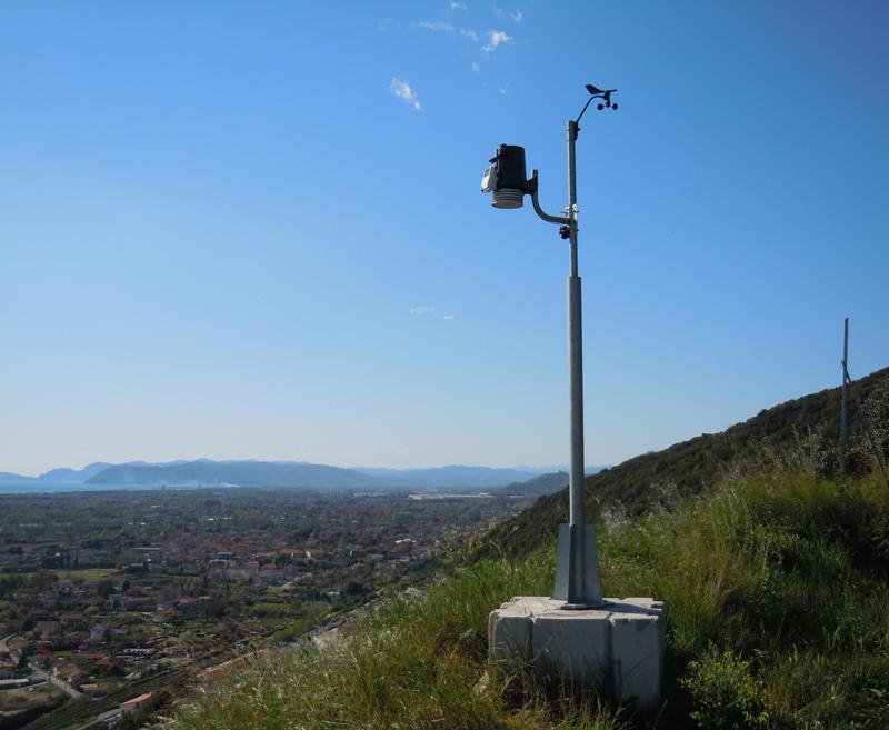 stazione meteo Montignoso