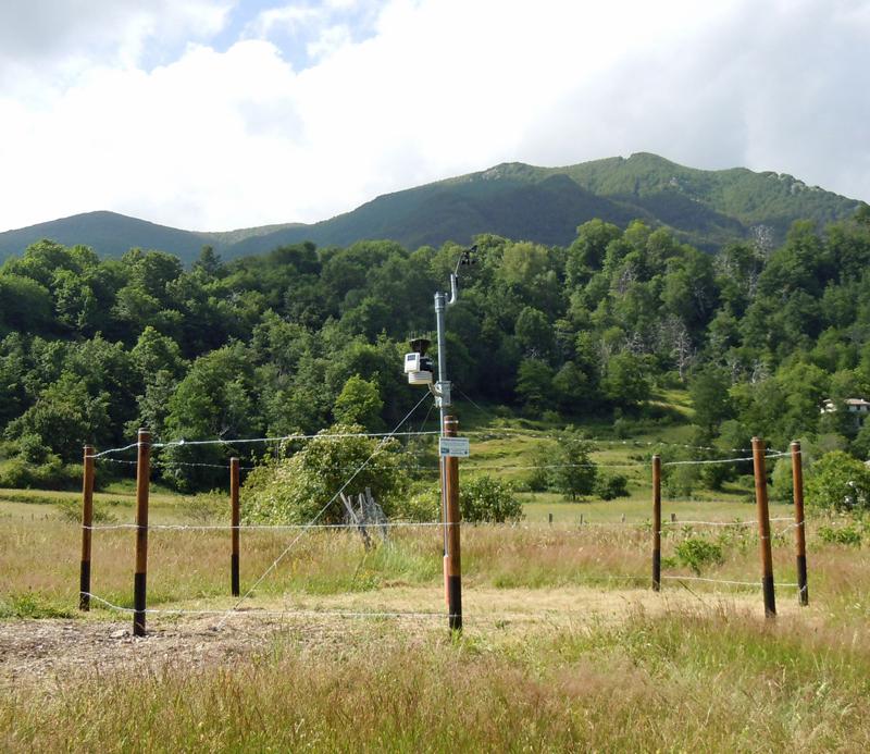 stazione meteo Zeri
