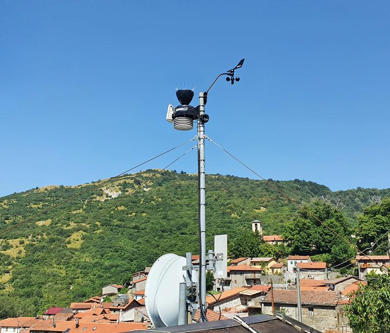 stazione meteo Sassalbo