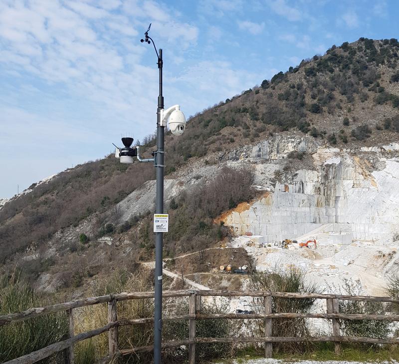 stazione meteo Colonnata
