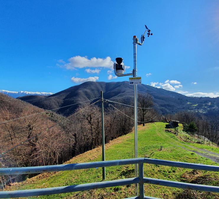 stazione meteo Montereggio