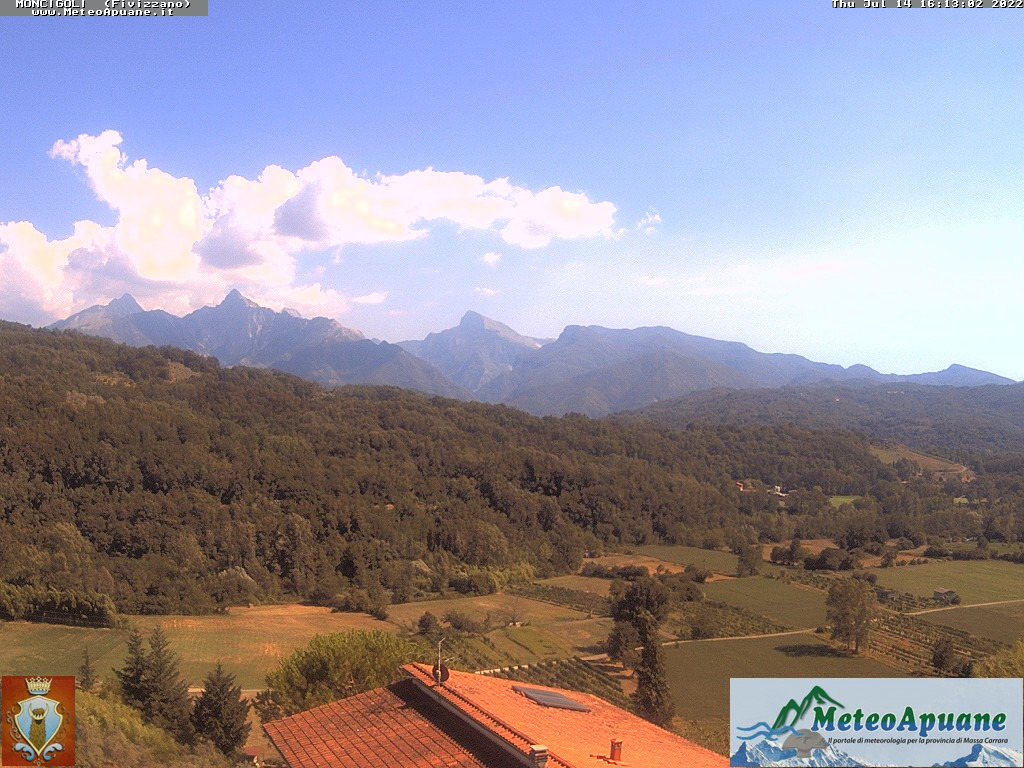 webcam Fivizzano Apuane