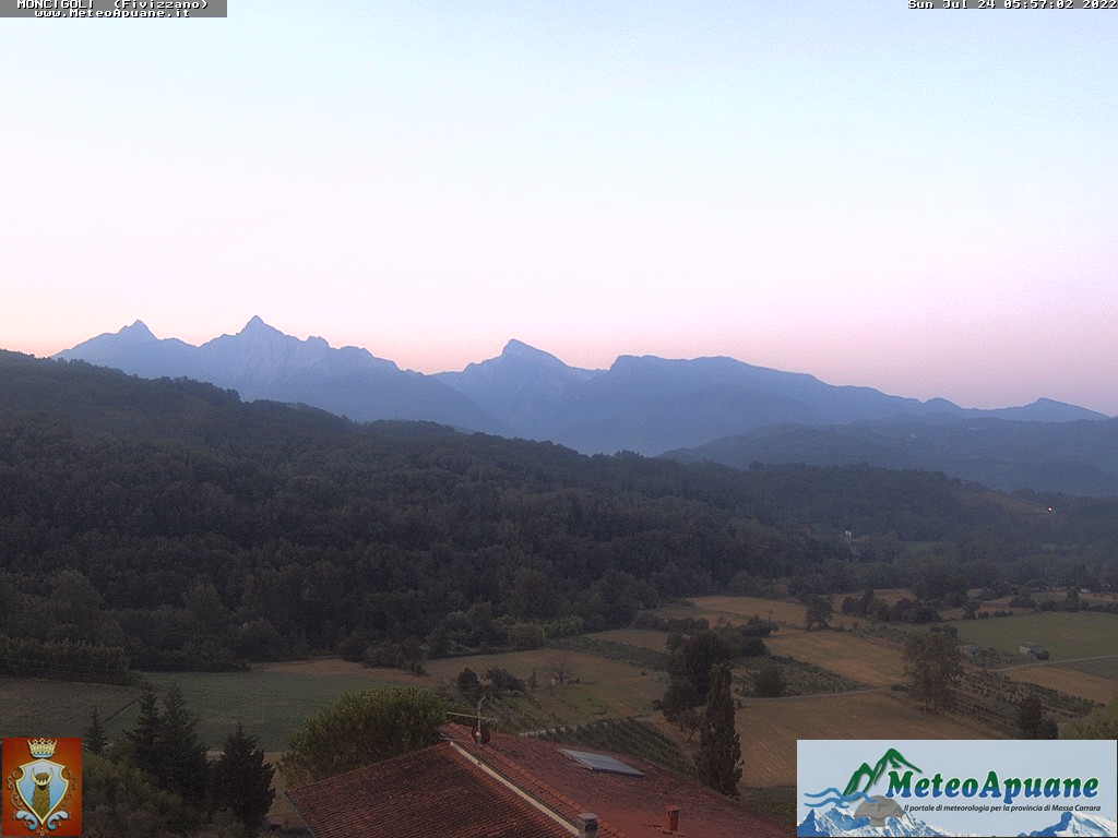 Webcam Moncigoli, comune di Fivizzano, webcam provincia di Massa-Carrara, Webcam Toscana