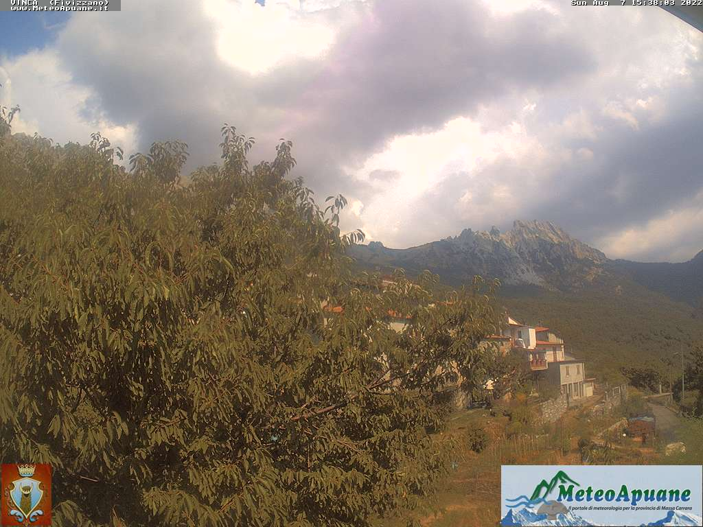 Webcam Vinca, comune di Fivizzano, webcam provincia di Massa-Carrara, Webcam Toscana